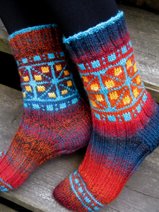Fairground Socks