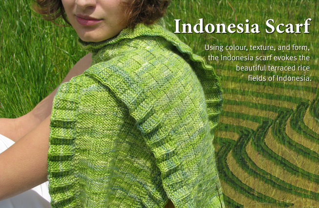 Indonesia Scarf